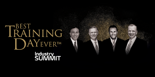 Industry Summit, Best Training Day Ever Join Forces