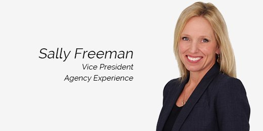 Sally Freeman, Vice President of Agency Experience