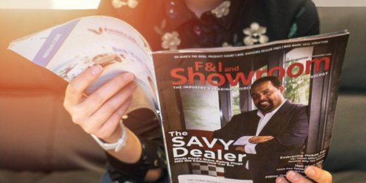 SAVY® Makes the Cover on F&I Showroom