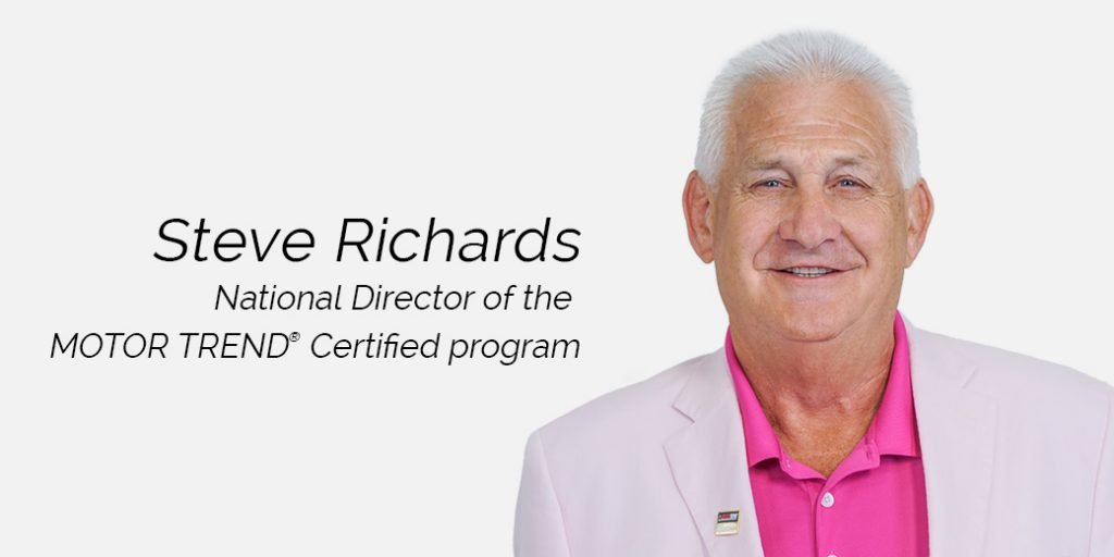 EasyCare Appoints Steve Richards as National Director of MotorTrend Certified Program