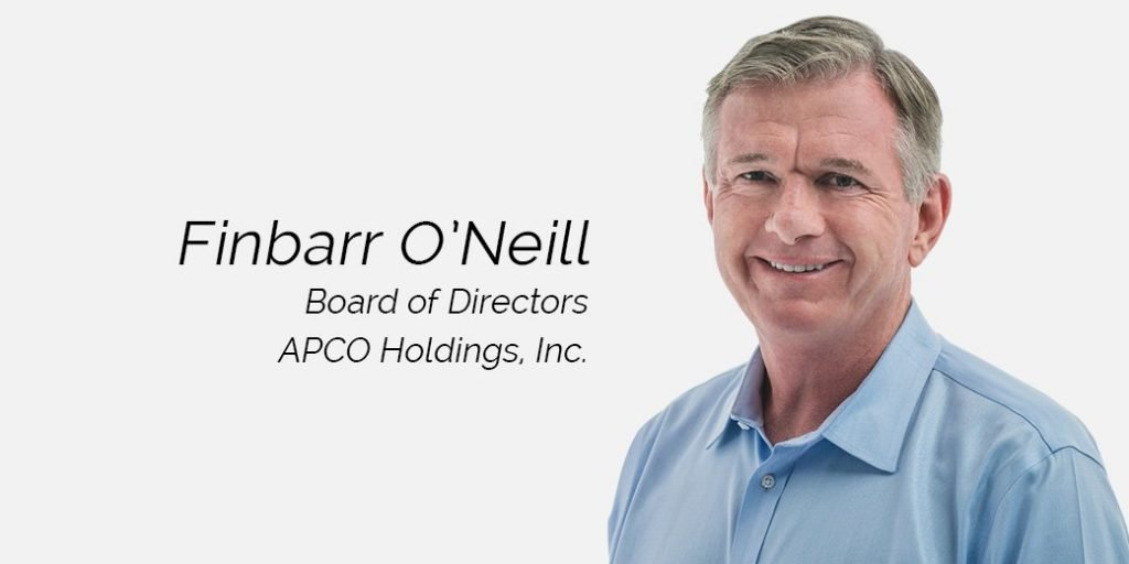 J.D. Power's Finbarr O'Neill Joins APCO Holdings Board
