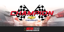 Champion Chevrolet of Avon Named Exclusive MOTOR TREND Certified Dealership in Avon, Indiana