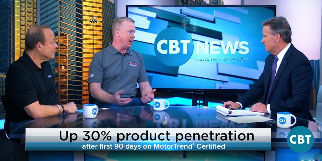 MotorTrend® Certified Dealer Champion Chevrolet of Avon Featured on CBT News