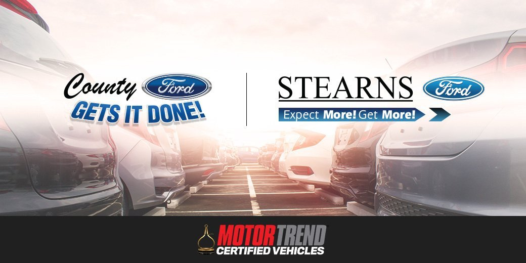 Stearns Ford and County Ford Join Exclusive Group of MotorTrend Certified Dealerships