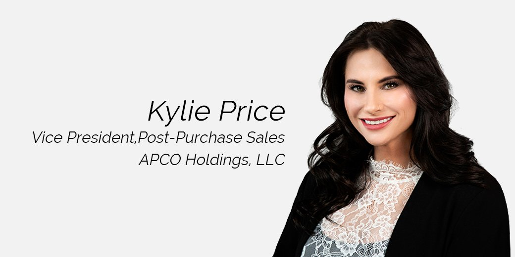 Kylie Price Named Vice President, Post-Purchase Sales at APCO Holdings
