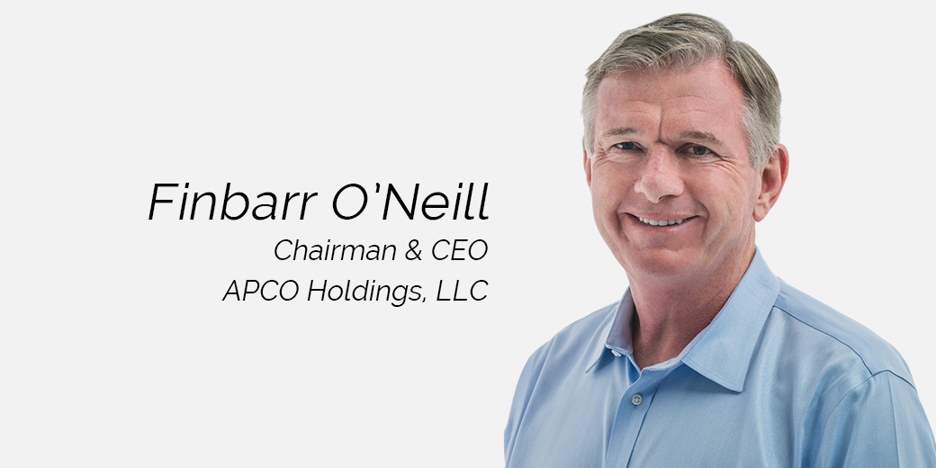 Finbarr O'Neill Chairman and CEO APCO Holdings
