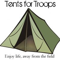 T4T Logo Tents For Troops